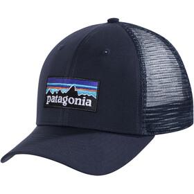 Patagonia P-6 Logo Trucker Hat Navy Blue